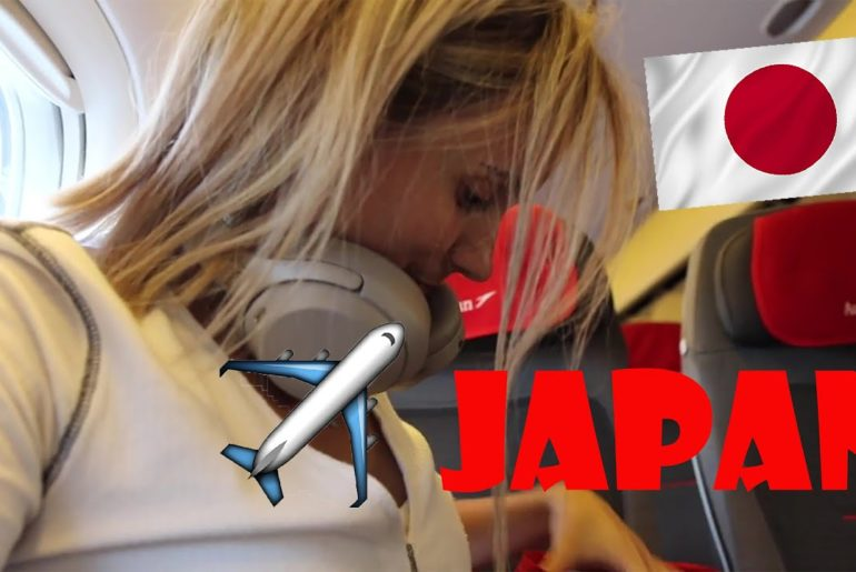 Flying to Japan on Austrian Airlines ✈️ DREAM COME TRUE 😍