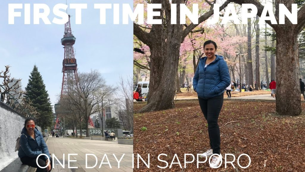 One day in Sapporo | Cherry Blossom 2018