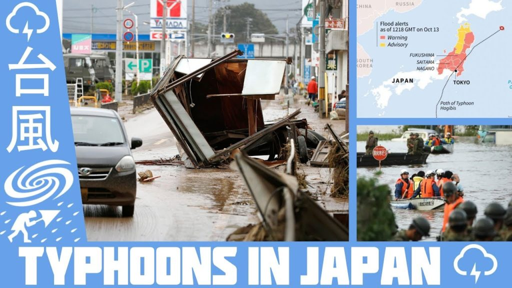 Typhoons in Japan - What you need to know - Hagibis 2019