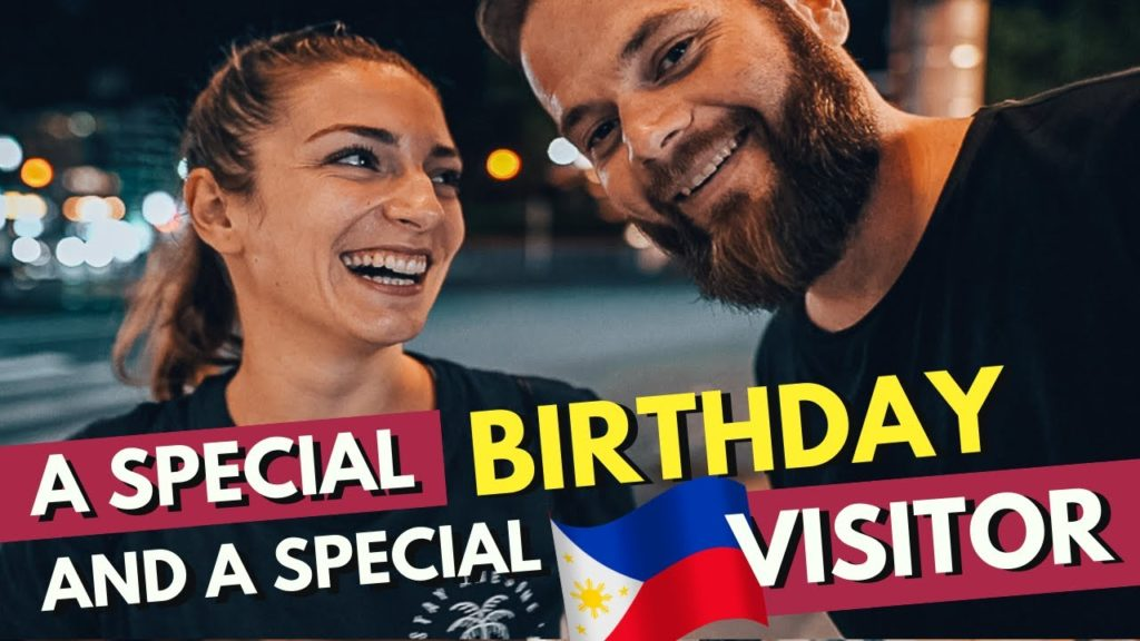 Our SPECIAL PHILIPPINES VISITOR and a SPECIAL Birthday