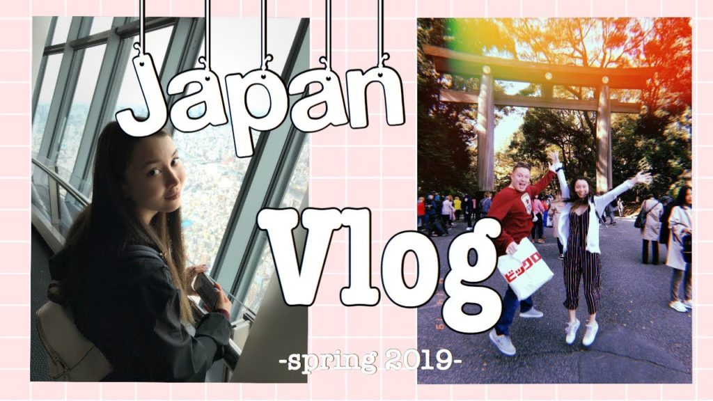 Japan Vlog: I went to Tokyo for the first time