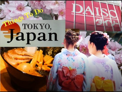 JAPAN Series:Things To DO and ENJOY in TOKYO!!!!! [SUB]