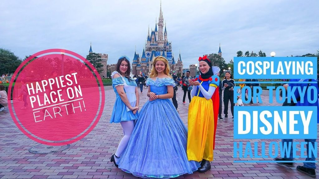We dressed up for Tokyo Disneyland Halloween! - Japan Vlog