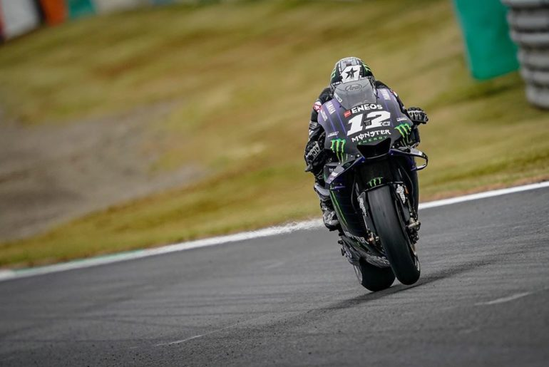 @maverick12official only just missed out on the front row today in Q2, but he is...
