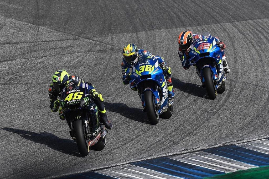 @valeyellow46 had a strong start to the Thai GP, but a lack of rear grip after l...