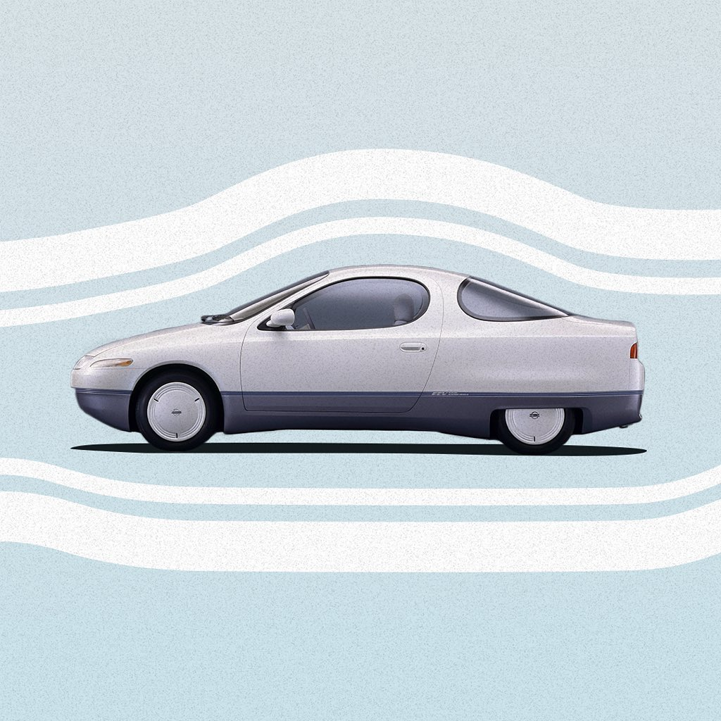 In October of #1991, we exhibited the Futuristic Electric Vehicle, or #FEV conce...