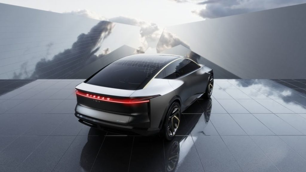 Futuristic high-tech meets timeless Japanese accents, a love story. #NissanIMs #...