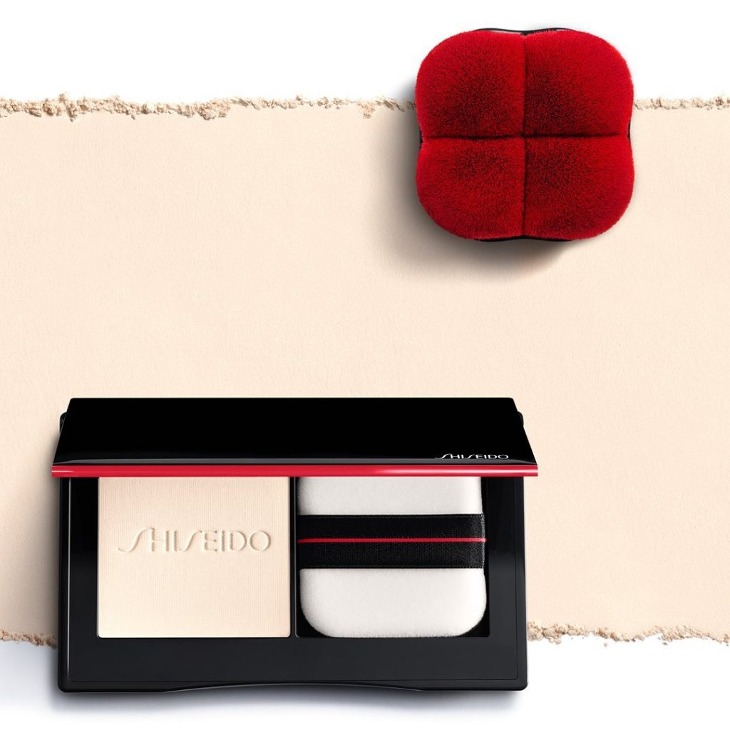 Erase shine instantly with Synchro Skin Invisible Silk Pressed Powder, a complet...