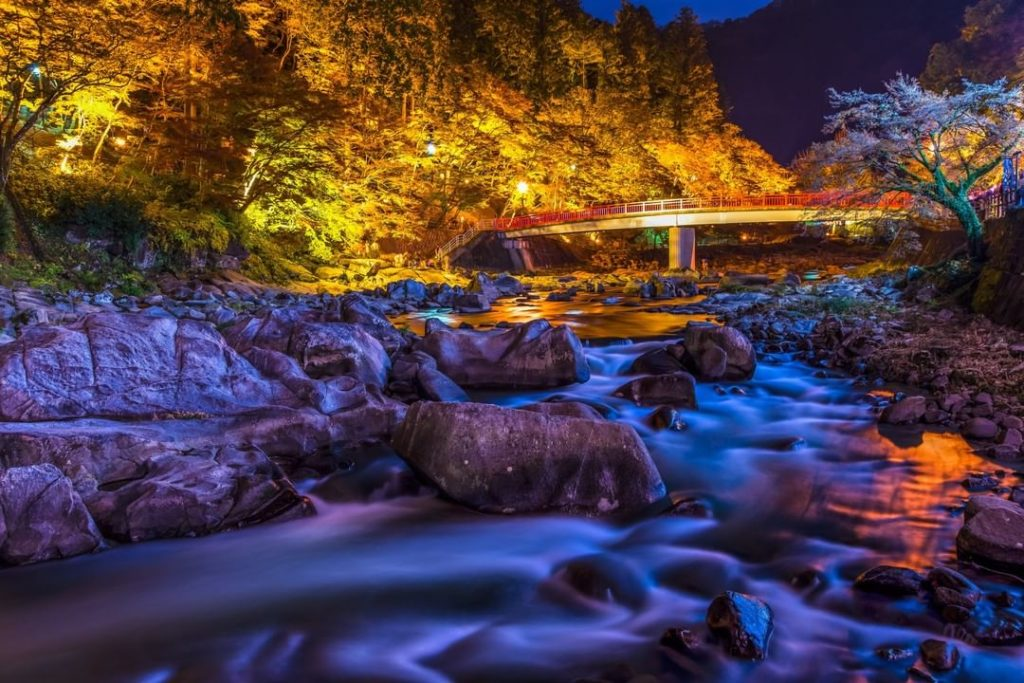 Aichi Prefecture's, and indeed one of Japan's best known autumn foliage spots, t...