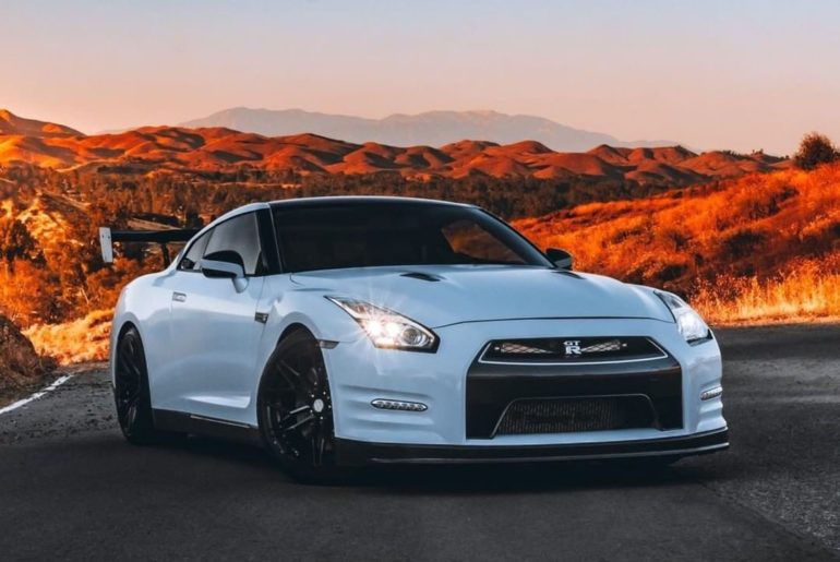 That fall glow, though.  #OMGTR #NissanGTR  @photosbypacheco  @gtrjenny...
