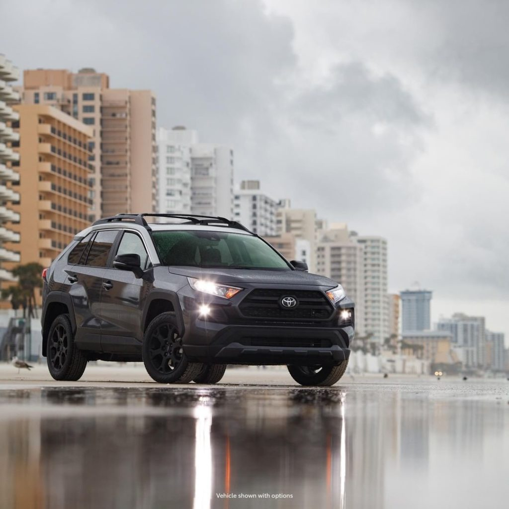 An attitude all its own. #RAV4 #TRD #LetsGoPlaces...