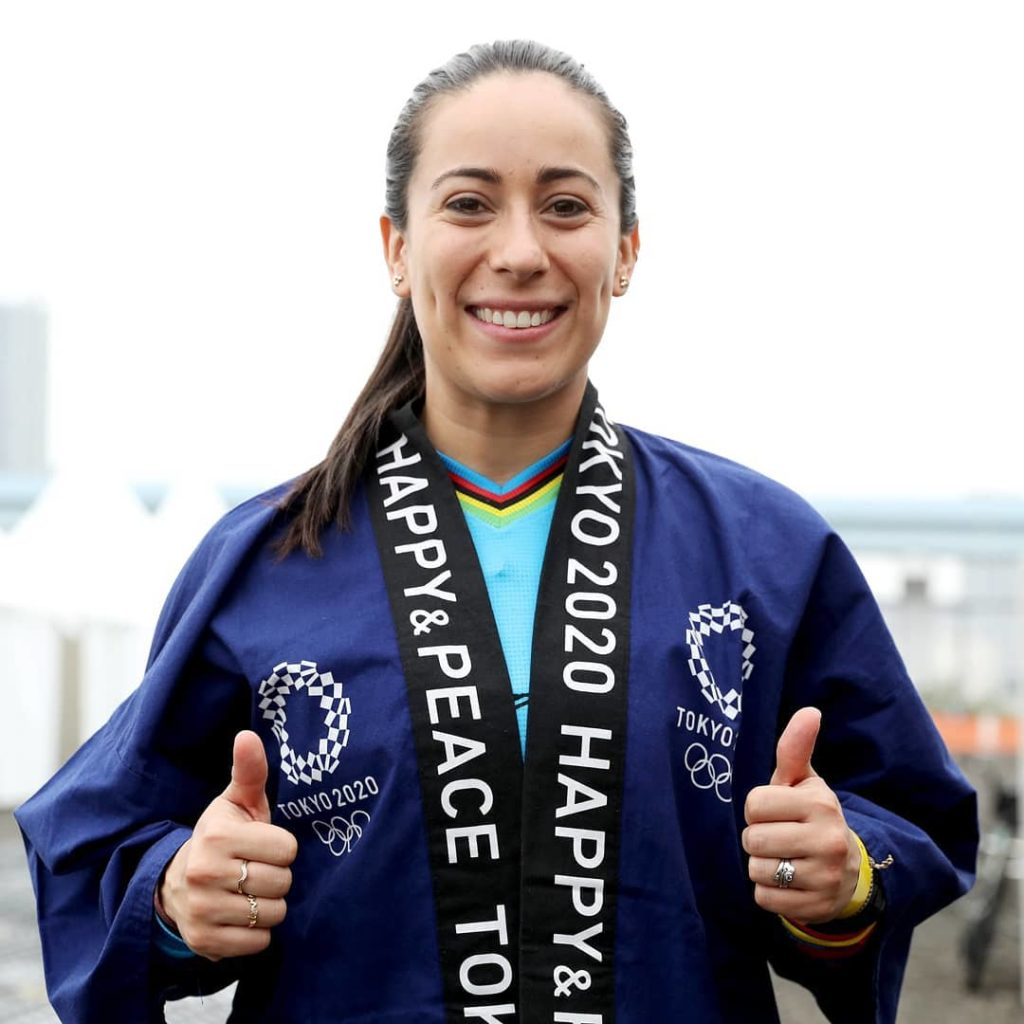Meet @marianapajon , Colombia's first Double Olympic Champion wearing a traditio...