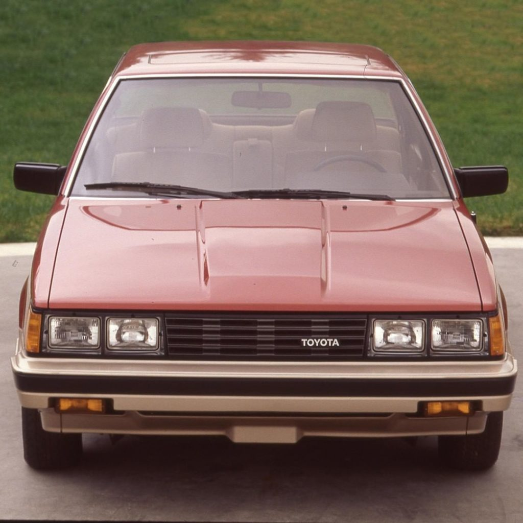 Making commutes more bearable since '83. #Camry! #TBT #1983 #LetsGoPlaces...