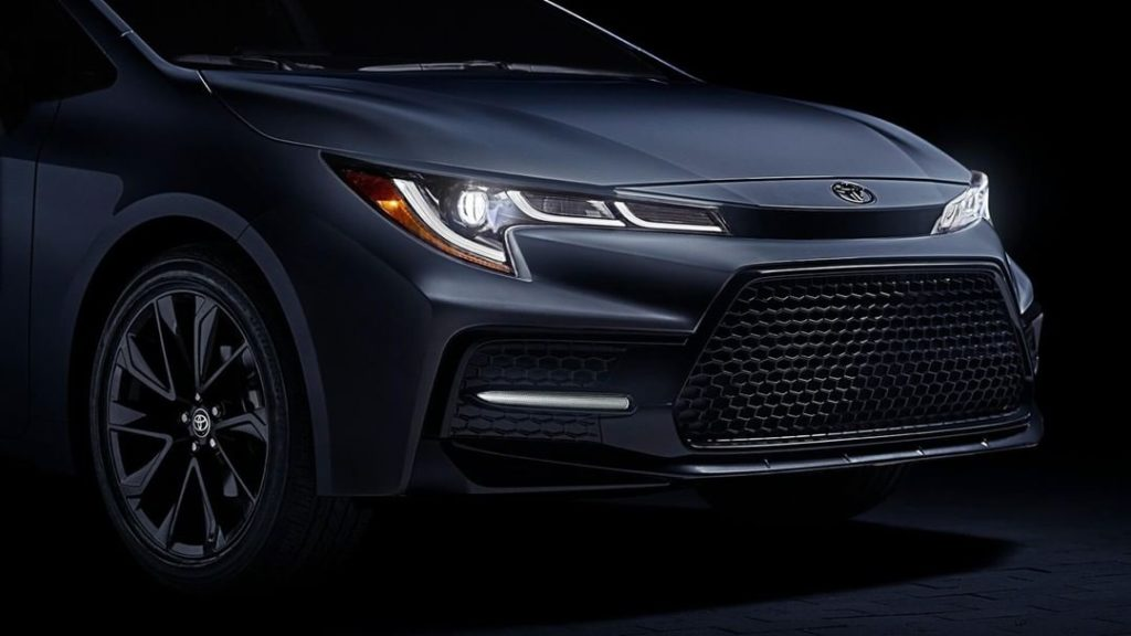If you've got it, haunt it! #Corolla #LetsGoPlaces...