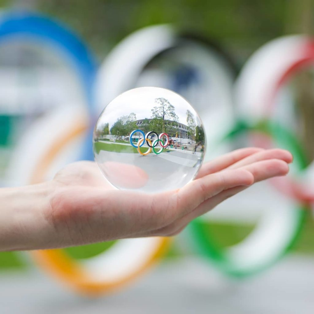 Take a look into our Olympic crystal ball?  I see an incredible, sustainabl...
