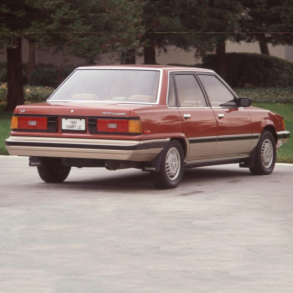 It's like looking into the eyes of a younger #Camry. #TBT #1983 #LetsGoPlaces...