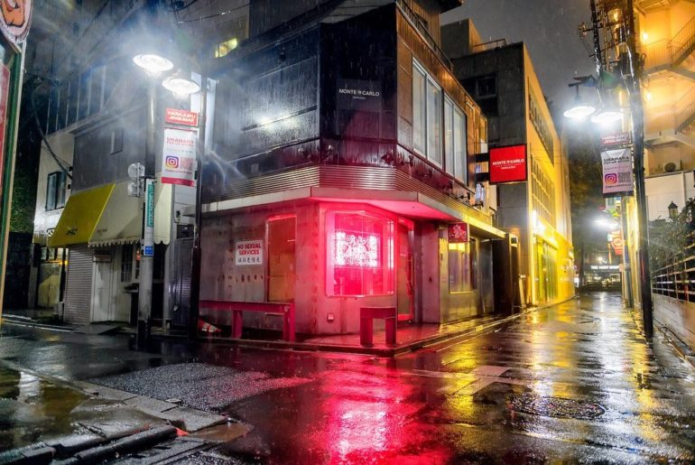 Tokyo's famous Harajuku neighborhood completely empty during business hours toda...