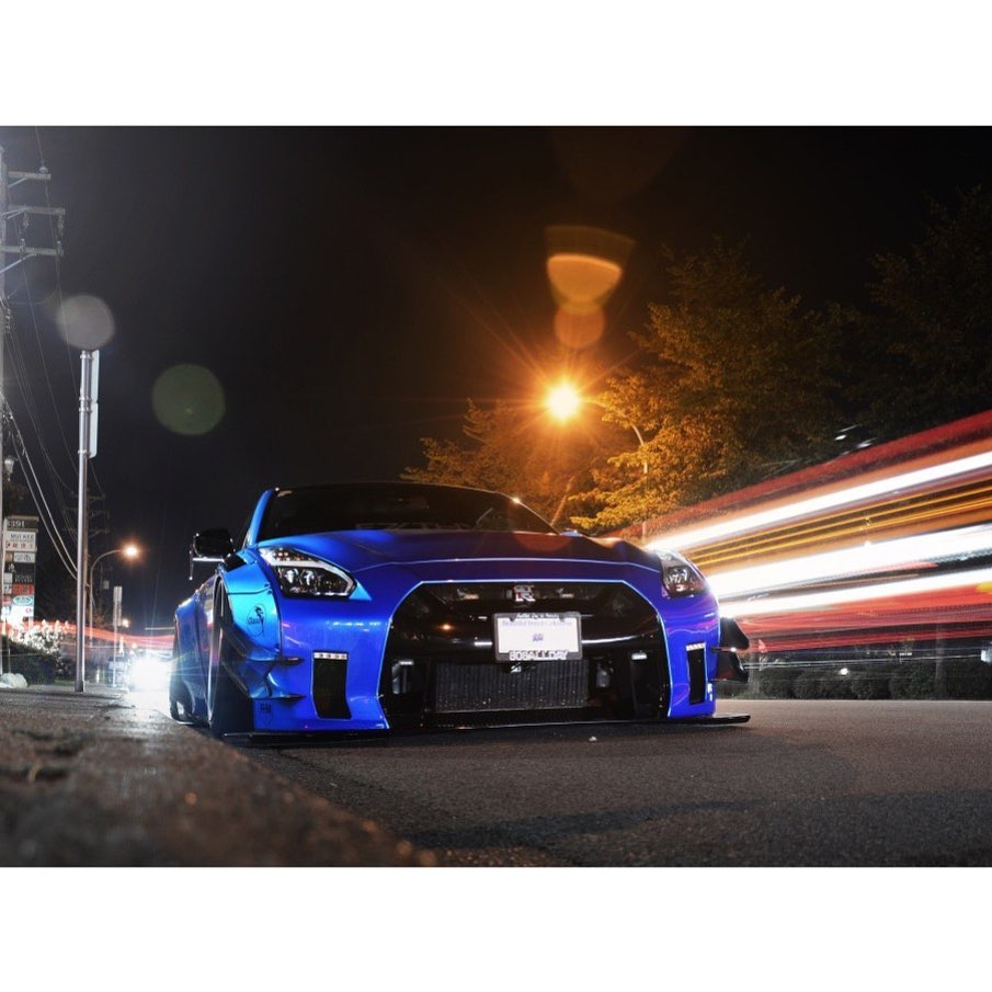 Night rider  Photo  @autogespot . . . . Follow the Crew:  @Nissan_GTR_Lovers @Cl...