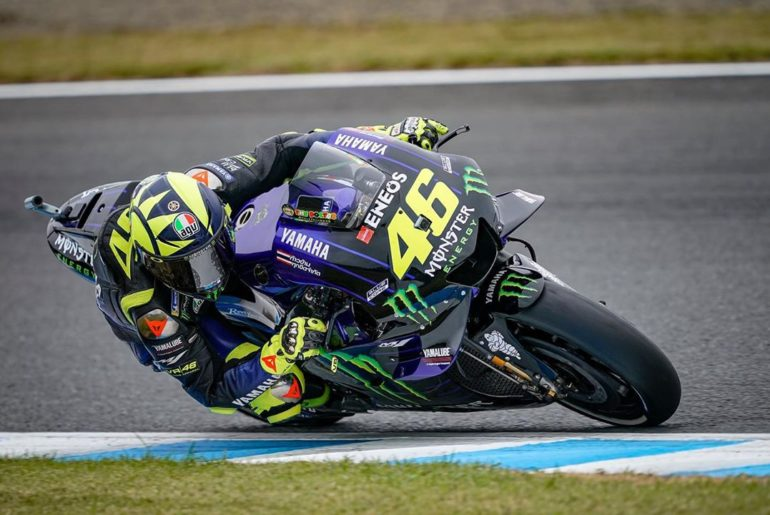 @valeyellow46 will start tomorrow #JapaneseGP from P10 of the grid. . . #Monster...