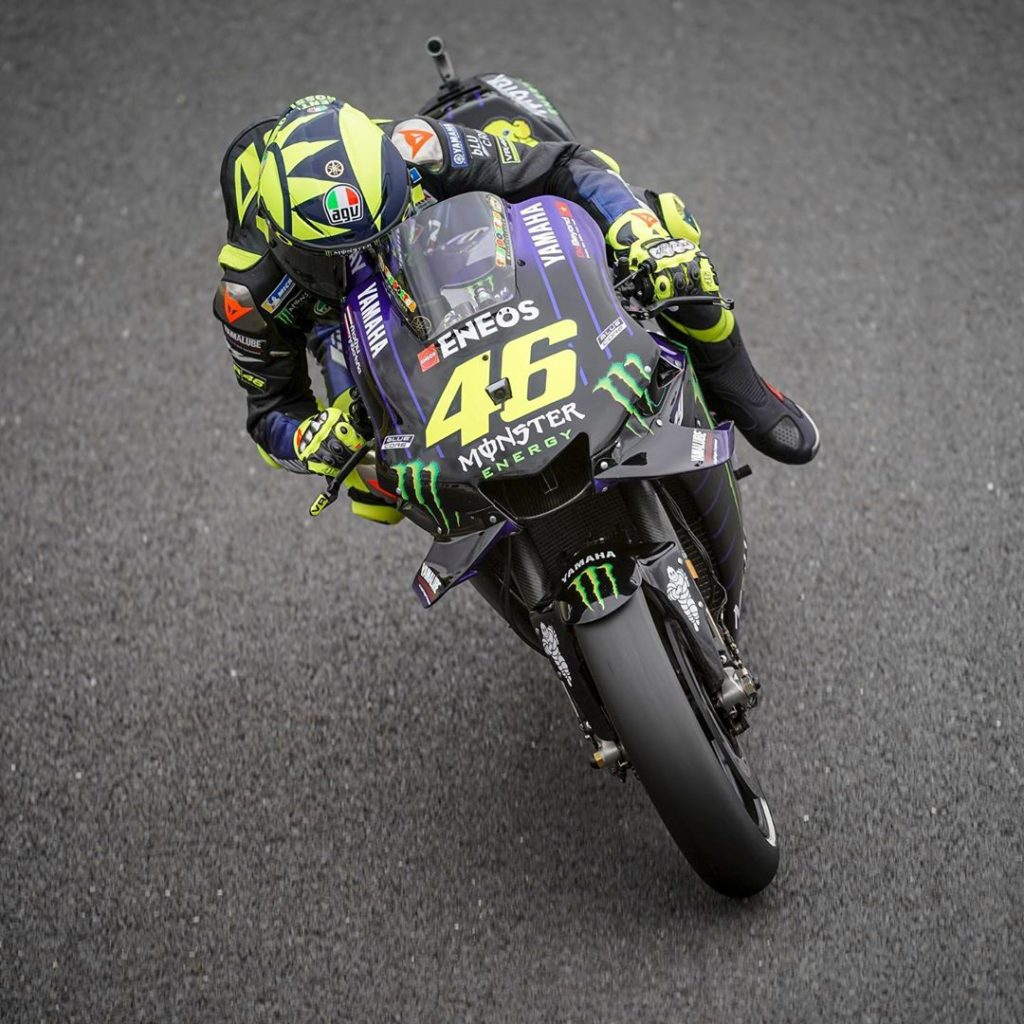 "@valeyellow46 : ""We tried to save a bit of time to do the time attack at the end..."