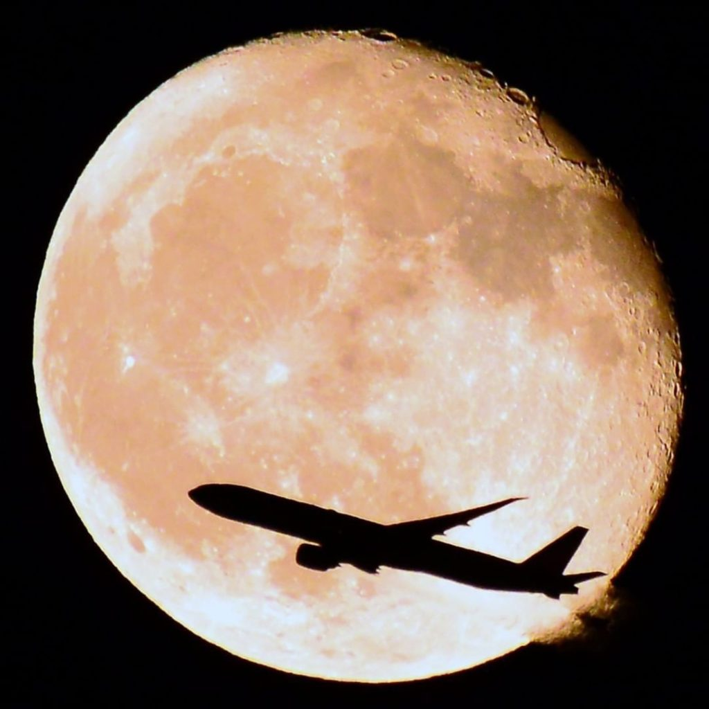 . With autumn comes beautiful sights of the moon. Look up and you might catch th...