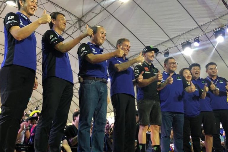 The fun isn't over yet in Buriram. . Yamaha Motor Racing Managing Director Lin J...