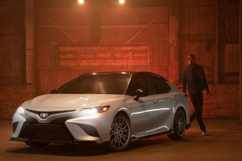 The new 2020 #Camry #TRD is engineered to ignite your fire and heat-up the stree...