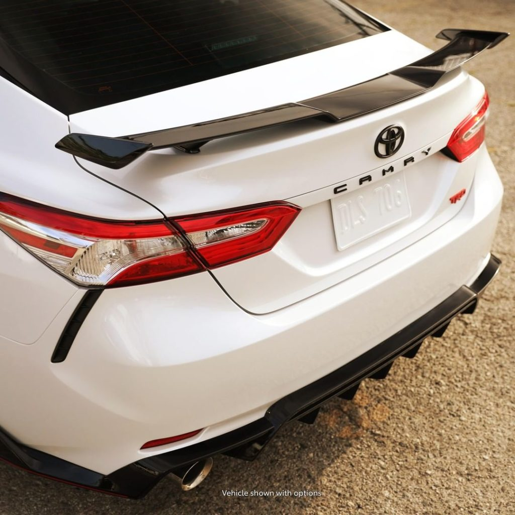 Spoiler alert! On the new 2020 #Camry #TRD #LetsGoPlaces...