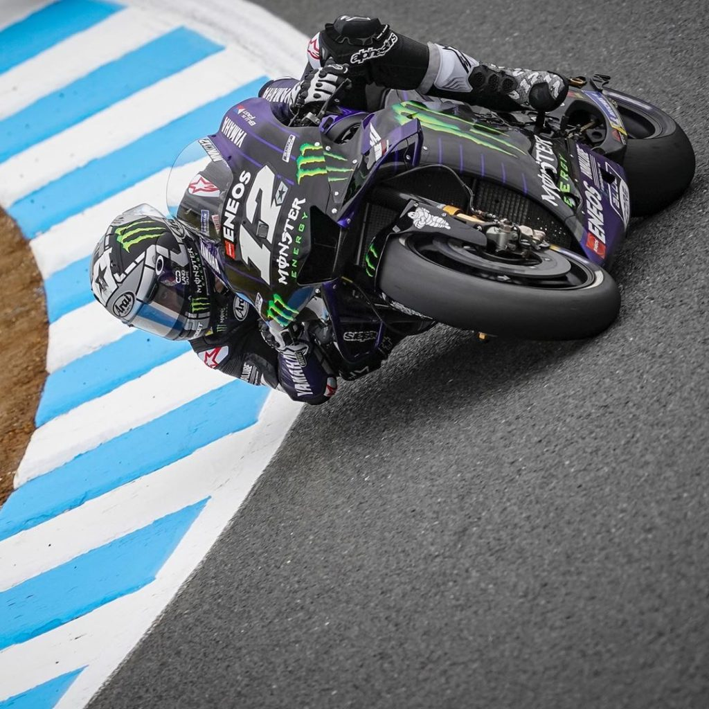 Positive start to the Japanese GP weekend for @maverick12official. He feels conf...