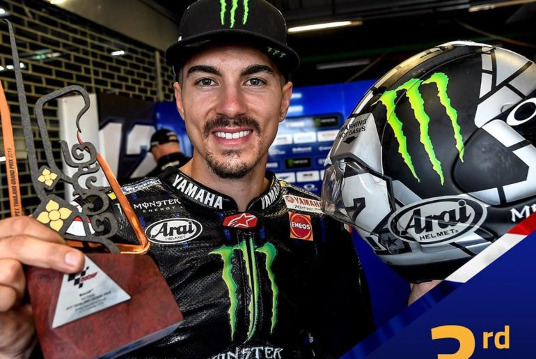 Thanks to his 3rd place in Buriram, @maverick12official has climbed up to 4th pl...