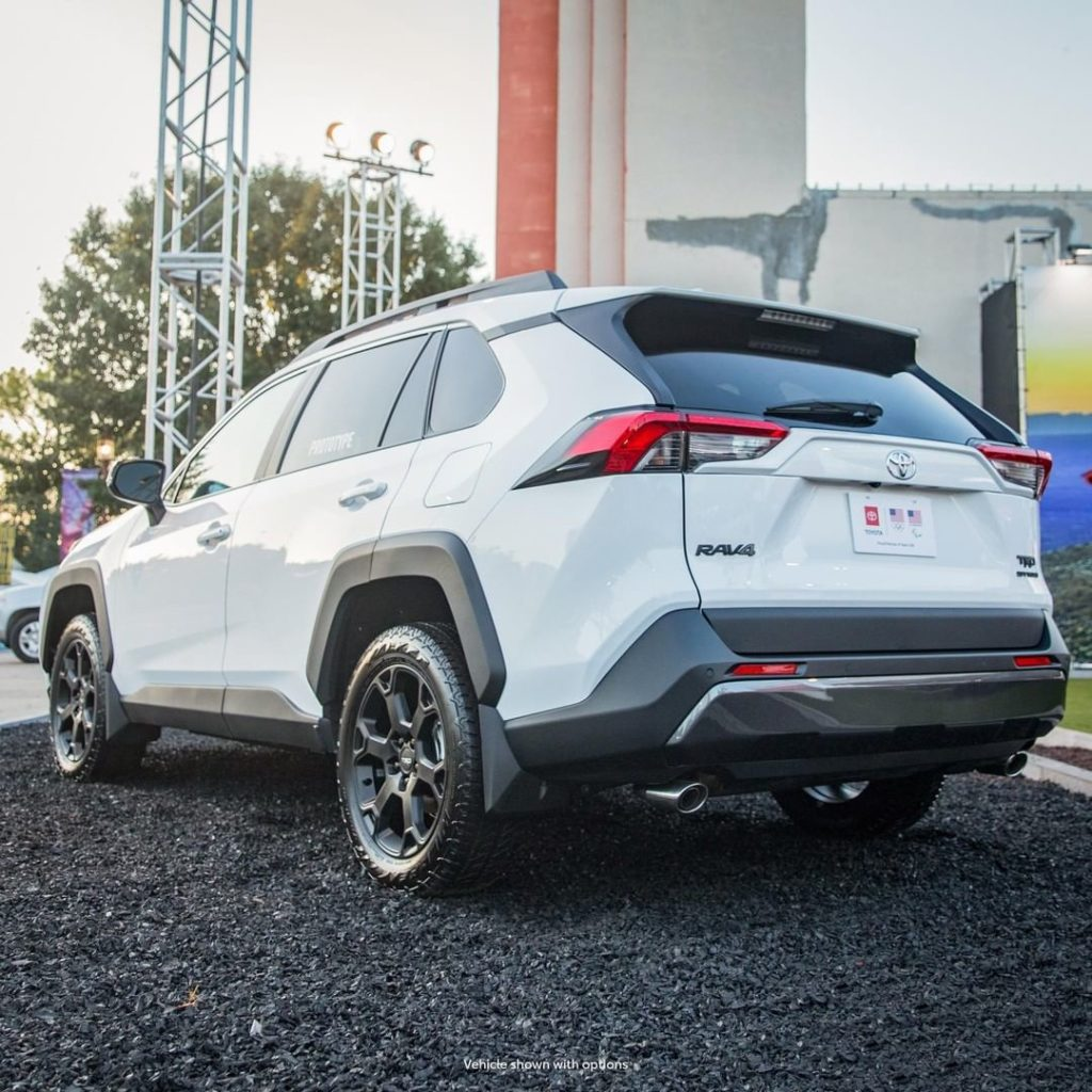 Take your adventures further with the 2020 #RAV4 #TRD Off-Road! #LetsGoPlaces...