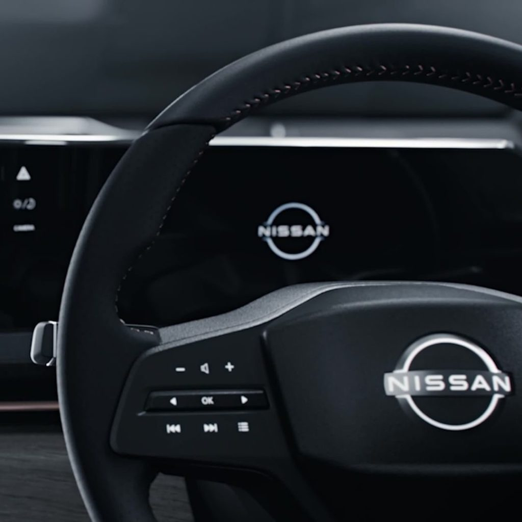 The interior design of the #Nissan #Ariya concept represents our design of tomor...