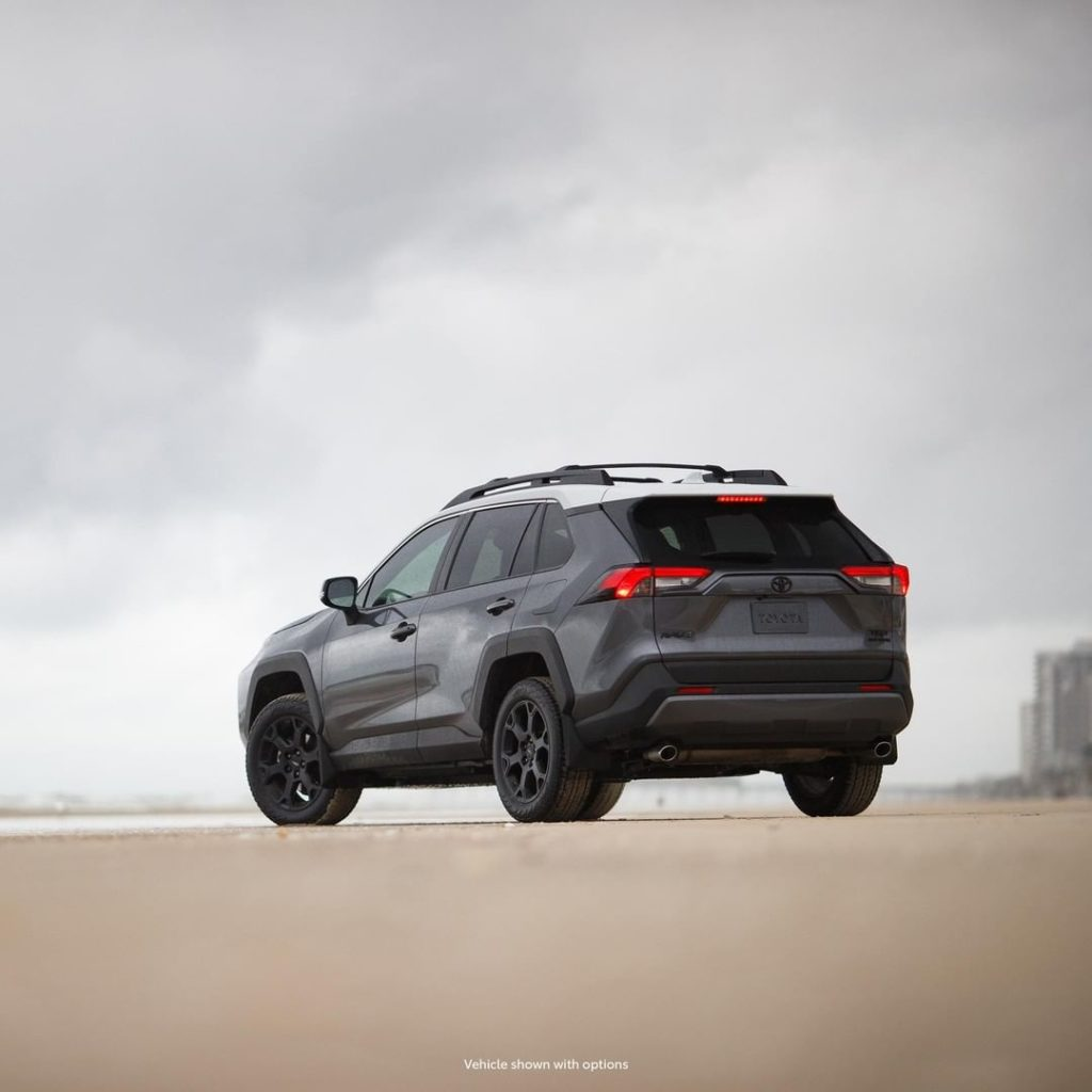 What boundaries? #RAV4 #TRD #LetsGoPlaces...