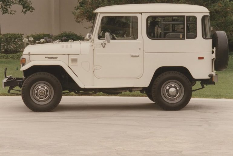 Rugged, yet refined. #TBT 1979 #LandCruiser #LetsGoPlaces...
