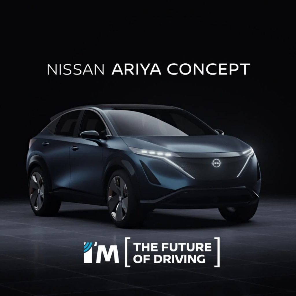 Get your own virtual valet with #Nissan #Ariya concept's ProPILOT Remote Park te...