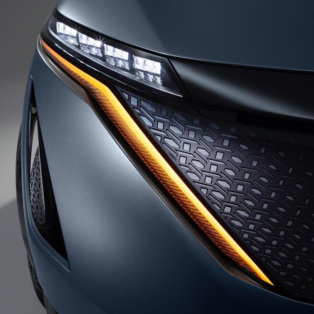 The #Nissan #Ariya concept is all about the details, keeping it sleek and seamle...