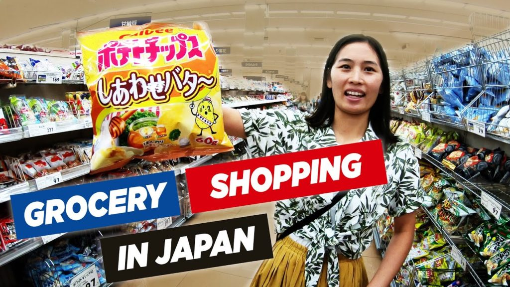 Her Favorite Japanese Snacks - Cycling to Local Japanese Grocery Store