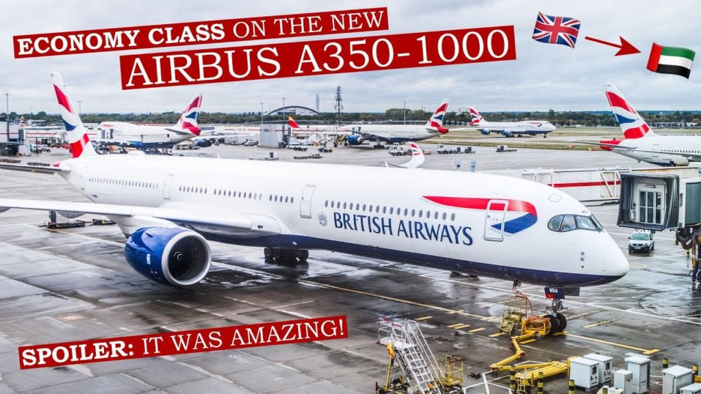 BRUTALLY HONEST review of BRITISH AIRWAYS Airbus A350-1000 ECONOMY CLASS!