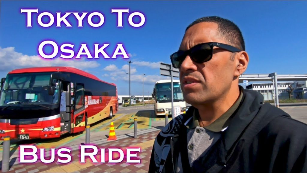 TOKYO TO OSAKA BUS RIDE VIBES (Way cheaper and Scenic than the bullet train)