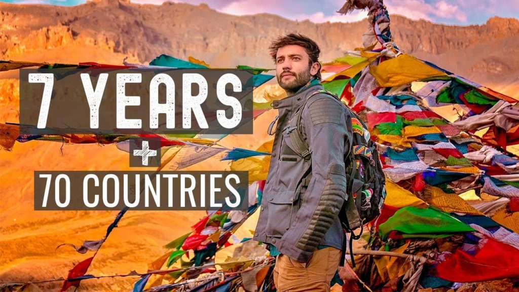 Quit My Job for 7 YEARS + 70 COUNTRIES OF TRAVEL
