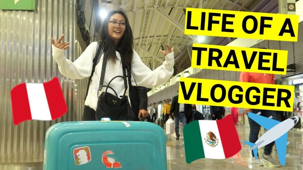 the REAL DAY IN the LIFE of a TRAVEL VLOGGER (traveling from Mexico to Peru)