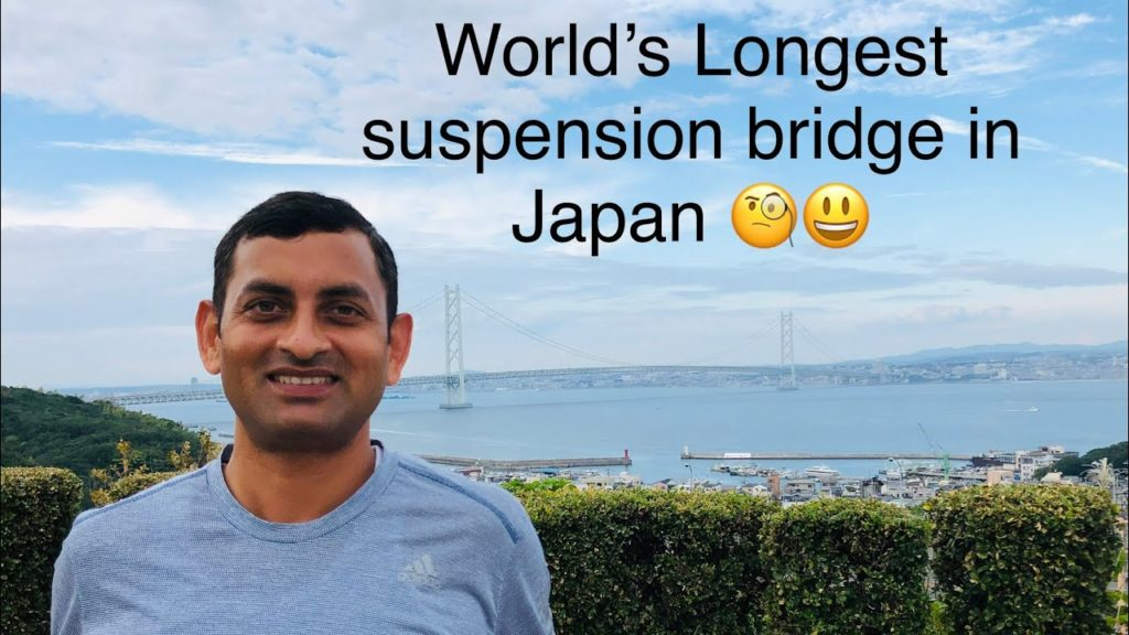 The longest suspension bridge in world ( Akashi Kaikyo bridge Japan) by WowFun