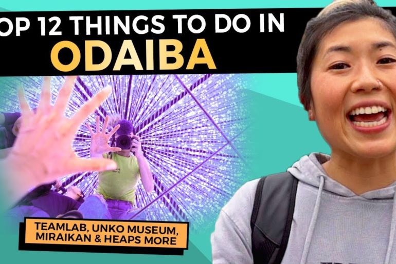 12 BEST Things to do in ODAIBA TOKYO with Kids | Japan 2020 Travel Guide