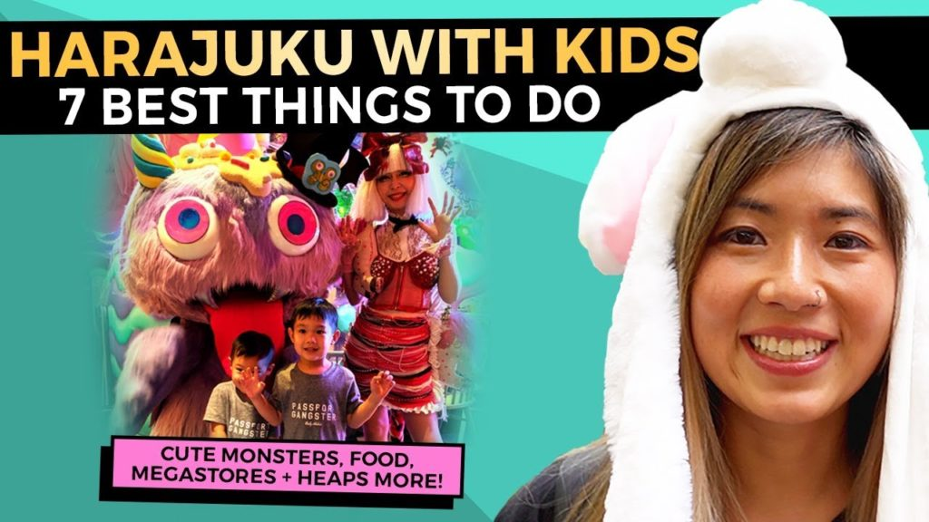 7 FUN Things to do in HARAJUKU Tokyo with Kids | 2020 Japan Travel Guide