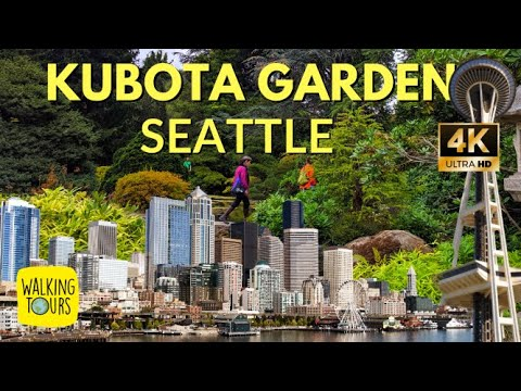 Kubota Garden Japanese Garden | Seattle Travel Free Things to Do | 4K UltraHD Walking Tour