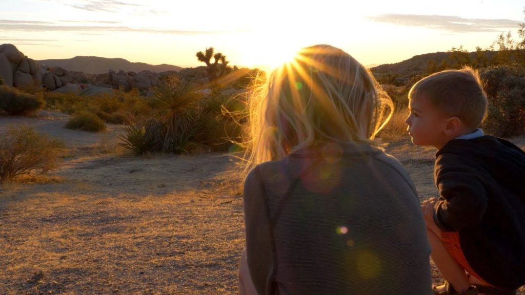 Camping and hiking in Joshua Tree with kids – Shot on Lumix G9