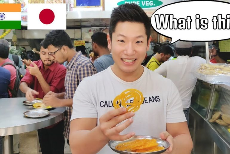 Foreigner Jalebi Reaction!!  मैंने जलेबी खाई!! - Japanese in India