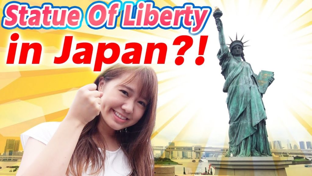 Statue  of Liberty in Japan! Dating Spot of Tokyo !