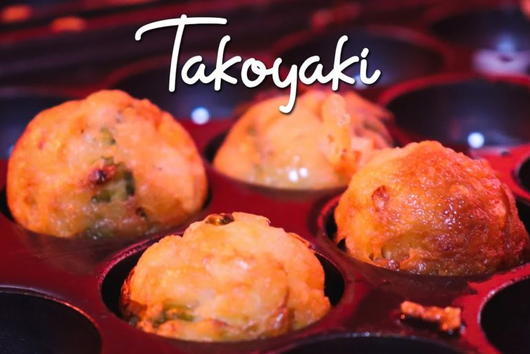 STREET FOOD IN JAPAN - TAKOYAKI たこ焼き SA QUEZON LUCENA CREAMY AND BUTTERY!