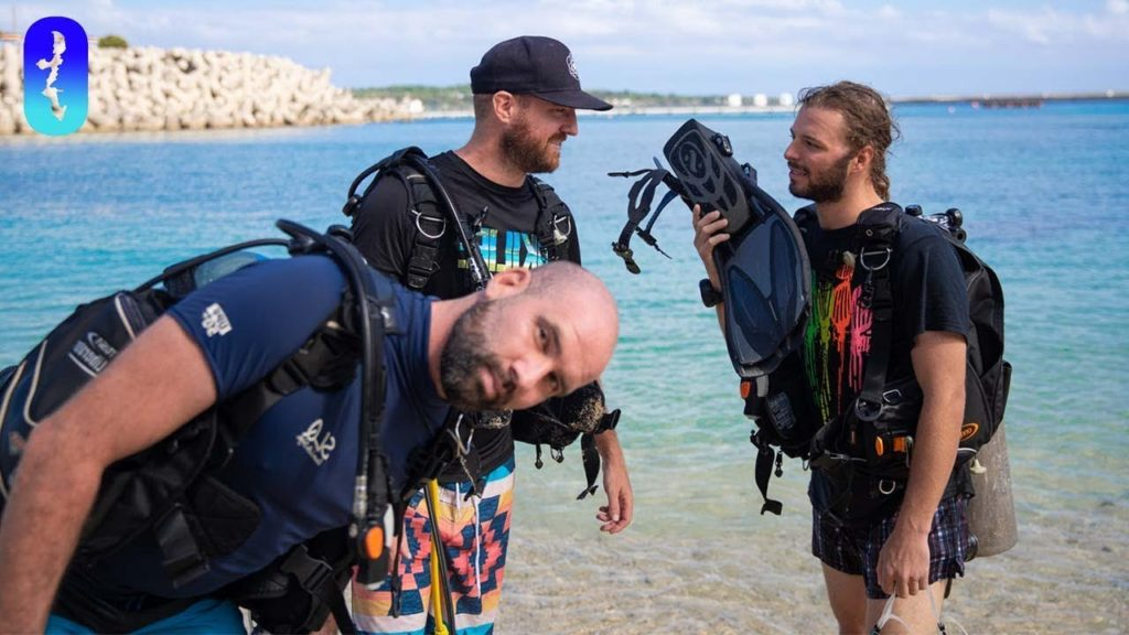 Ditching Work to Go Diving in Okinawa